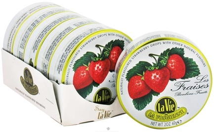 DROPPED: La Vie de La Vosgienne - Hard Candy Strawberry - 2 oz.