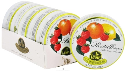 DROPPED: La Vie de La Vosgienne - Hard Candy Pastillines Assorted Fruit - 2 oz.