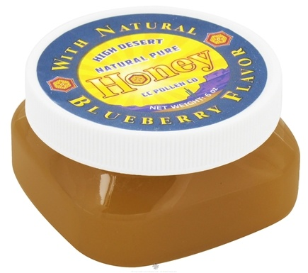 DROPPED: CC Pollen - High Desert Natural Pure Honey with Natural Blueberry Flavor - 6 oz.