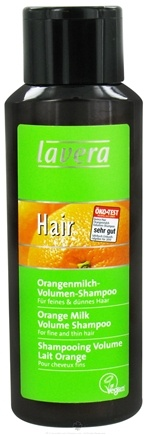 DROPPED: Lavera - Shampoo Volume For Fine & Thin Hair Orange Milk - 8.2 oz.