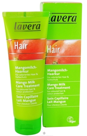 DROPPED: Lavera - Care Treatment For Colored Hair Mango Milk - 4.1 oz. CLEARANCE PRICED