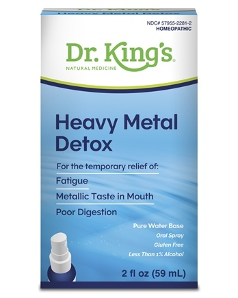 AquaFlora - Candida Heavy Metal Detox - 2 oz.