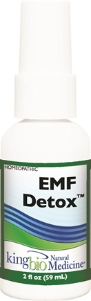 DROPPED: King Bio - Homeopathic Natural Medicine EMF Detox Electromagnetic Radiation - 2 oz. CLEARANCE PRICED