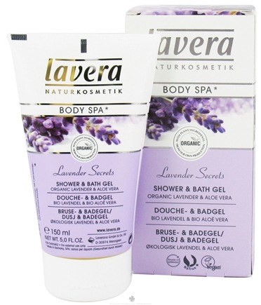 DROPPED: Lavera - Body Spa Organic Shower & Bath Gel Lavender Secrets - 5 oz. CLEARANCE PRICED