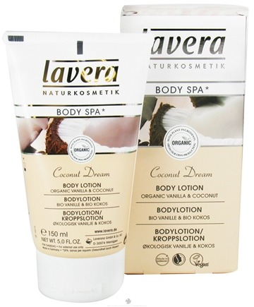 DROPPED: Lavera - Body Spa Organic Body Lotion Coconut Dream - 5 oz. CLEARANCE PRICED