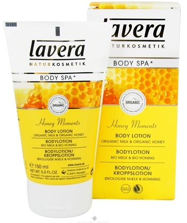 DROPPED: Lavera - Body Spa Organic Body Lotion Honey Moments - 5 oz. CLEARANCE PRICED