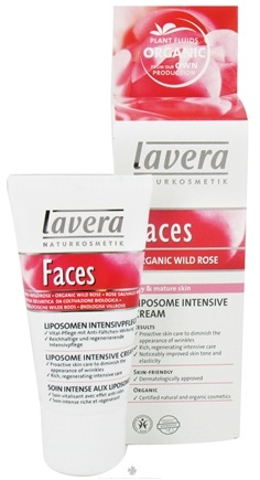 DROPPED: Lavera - Faces Liposome Intensive Cream Organic Wild Rose - 1 oz. CLEARANCE PRICED