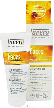 DROPPED: Lavera - Faces Cleansing Gel Organic Calendula - 2.5 oz. CLEARANCE PRICED