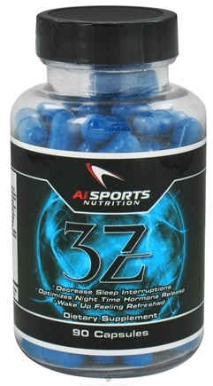 DROPPED: AI Sports Nutrition - 3Z Sleep Aid - 90 Capsules - 90 Capsules CLEARANCE PRICED
