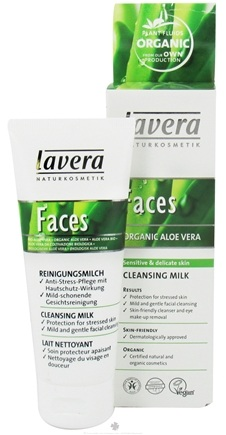 DROPPED: Lavera - Faces Cleansing Milk Organic Aloe Vera - 2.5 oz.