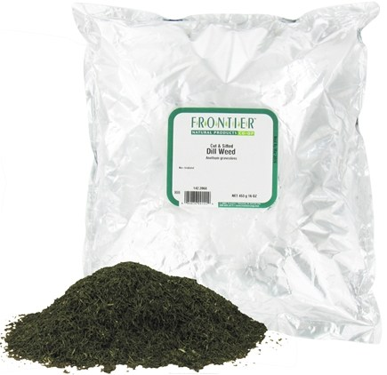DROPPED: Frontier Natural Products - Dill Weed Cut & Sifted - 1 lb. CLEARANCE PRICED