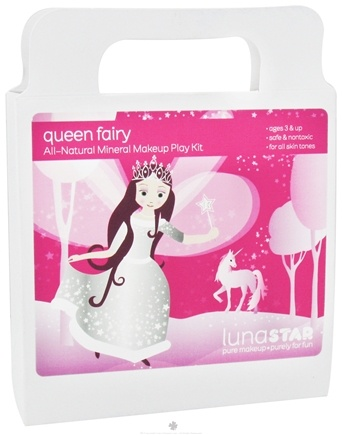 DROPPED: Luna Star - Queen Fairy All-Natural Mineral Makeup Play Kit For Kids - CLEARANCE PRICED
