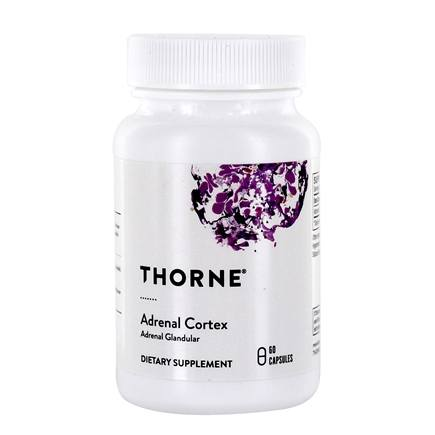 Thorne Research - Adrenal Cortex 50 mg. - 60 Vegetarian Capsules