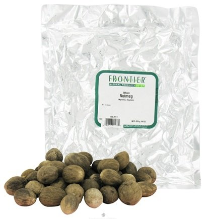 DROPPED: Frontier Natural Products - Nutmeg Whole - 1 lb. CLEARANCE PRICED