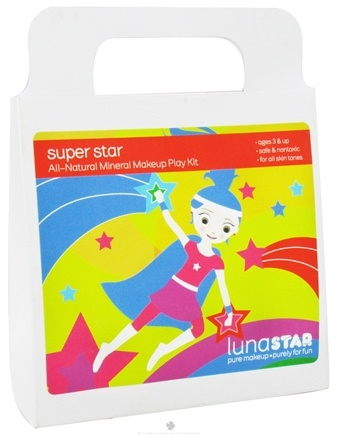 DROPPED: Luna Star - Super Star All-Natural Mineral Makeup Play Kit for Kids - CLEARANCE PRICED