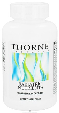 DROPPED: Thorne Research - Bariatric Nutrients - 120 Vegetarian Capsules CLEARANCE PRICED