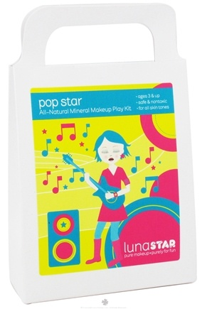 DROPPED: Luna Star - Pop Star All-Natural Mineral Makeup Play Kit for Kids - CLEARANCE PRICED