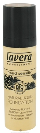 DROPPED: Lavera - Natural Liquid Foundation Honey - 1 oz. CLEARANCE PRICED