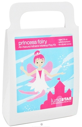 DROPPED: Luna Star - Princess Fairy All-Natural Mineral Makeup Play Kit for Kids - CLEARANCE PRICED