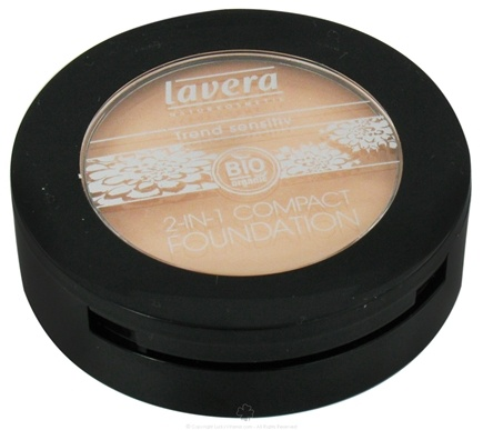 DROPPED: Lavera - 2 In 1 Compact Foundation Beige - 0.3 oz. CLEARANCE PRICED