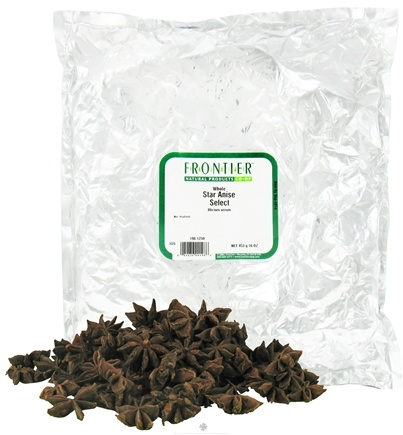 DROPPED: Frontier Natural Products - Star Anise Whole Select - 1 lb.