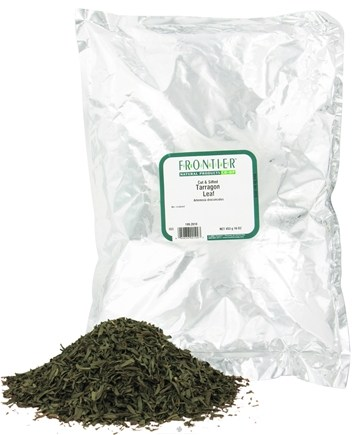 DROPPED: Frontier Natural Products - Tarragon Leaf Cut & Sifted - 1 lb. CLEARANCE PRICED