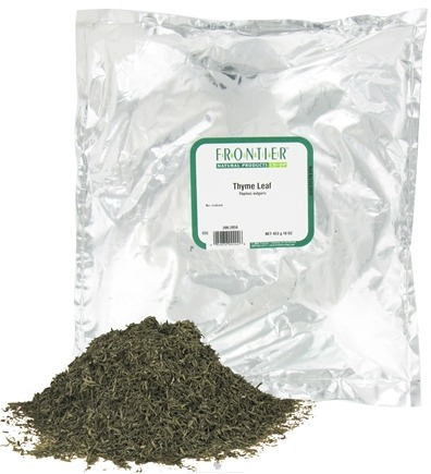 DROPPED: Frontier Natural Products - Thyme Leaf - 1 lb. CLEARANCE PRICED