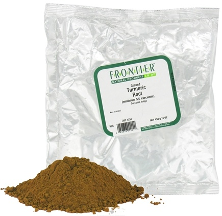 Frontier Natural Products - Turmeric Root Ground - 1 lb.