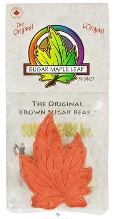 DROPPED: Sugar Bears - Original Brown Sugar Maple Leaf - CLEARANCE PRICED