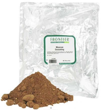 DROPPED: Frontier Natural Products - Mexican Seasoning - 1 lb. CLEARANCE PRICED
