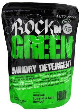 DROPPED: Rockin' Green - Classic Rock Laundry Detergent Remix Lavender Mint Revival - 45 oz.