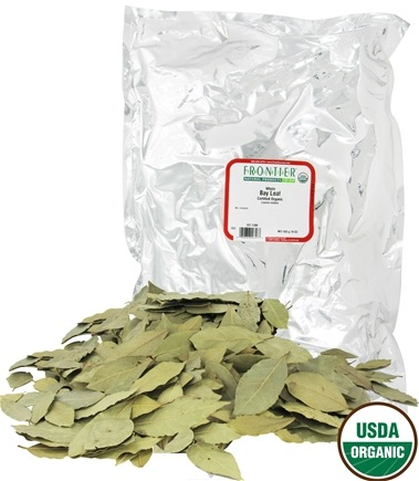 DROPPED: Frontier Natural Products - Bay Leaf Whole Organic - 1 lb. CLEARANCE PRICED