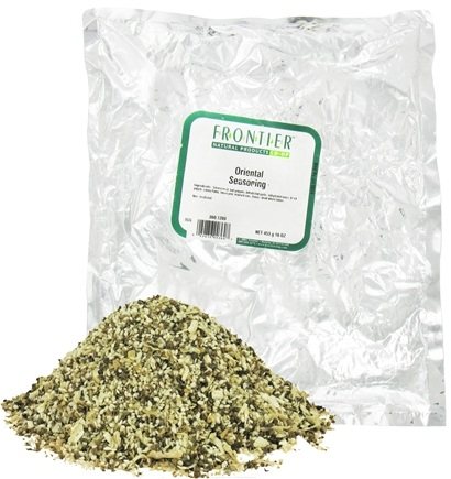 DROPPED: Frontier Natural Products - Oriental Seasoning Blend - 1 lb. CLEARANCE PRICED