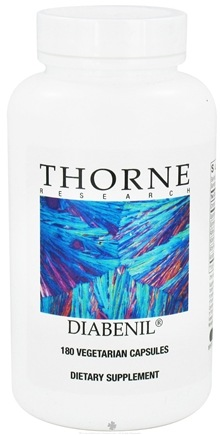 DROPPED: Thorne Research - Diabenil - 180 Vegetarian Capsules CLEARANCE PRICED