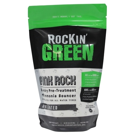 DROPPED: Rockin' Green - Funk Rock All Natural Ammonia Bouncer - 16 oz.
