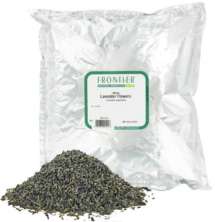 DROPPED: Frontier Natural Products - Lavender Flowers Whole - 1 lb. CLEARANCE PRICED