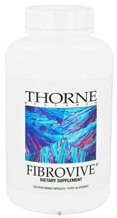 DROPPED: Thorne Research - Fibrovive - 180 Vegetarian Capsules CLEARANCE PRICED