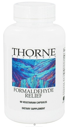 DROPPED: Thorne Research - Formaldehyde Relief - 90 Vegetarian Capsules CLEARANCE PRICED