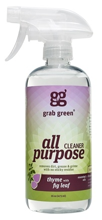 DROPPED: GrabGreen - All Purpose Surface Cleaner Thyme with Fig Leaf - 16 oz. CLEARANCE PRICED