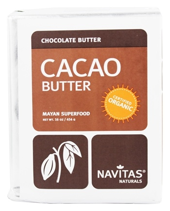 DROPPED: Navitas Naturals - Cacao Power Raw Butter Certified Organic - 16 oz.