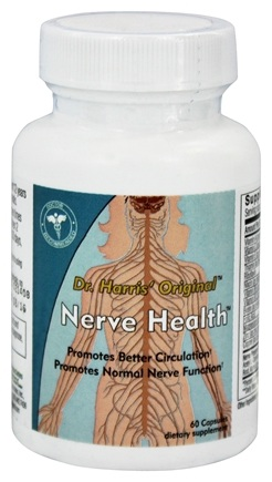 DROPPED: Dr. Harris Original - Nerve Health - 60 Capsules