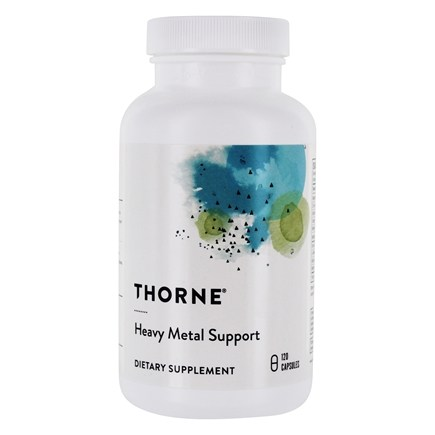 DROPPED: Thorne Research - Heavy Metal Support - 120 Vegetarian Capsules