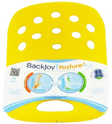 DROPPED: BackJoy - SitSmart Posture Plus Yellow