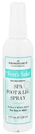 DROPPED: AromaFloria - For Feet's Sake Refreshing Spa Foot & Leg Spray Aromatherapy Tea Tree & Mint - 4 oz.