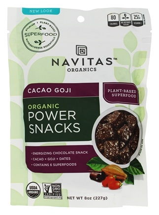 Navitas Naturals - Power Snack Goji Super Food Cacao - 8 oz.