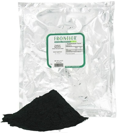 DROPPED: Frontier Natural Products - Spirulina Powdered - 1 lb.