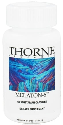 DROPPED: Thorne Research - Melaton 5 mg. - 60 Vegetarian Capsules