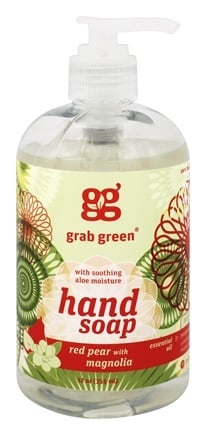 DROPPED: GrabGreen - Hand Soap Red Pear with Magnolia - 12 oz.
