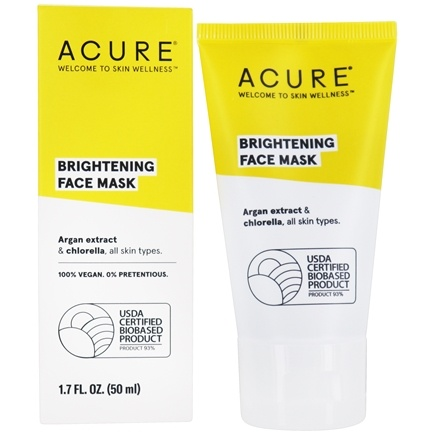 ACURE - Cell Stimulating Facial Mask Argan Stem Cell + Chlorella Growth Factor - 1.75 oz.