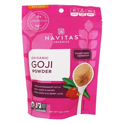 DROPPED: Navitas Naturals - Freeze-Dried Goji Berry Powder Certified Organic - 4 oz.